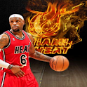 LBJ Heat Fire Live Wallpaper logo