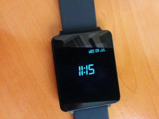 Digital Watchface for Wear