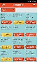 Screenshot of Ekstrahjelp