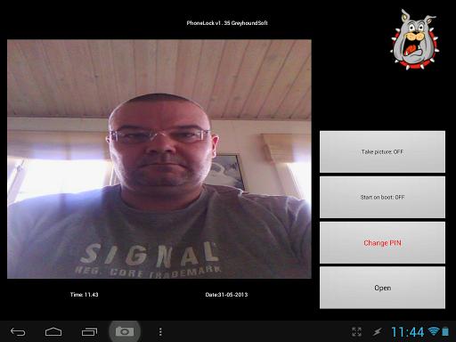 【免費通訊App】Phone Lock Screen lock w Photo-APP點子