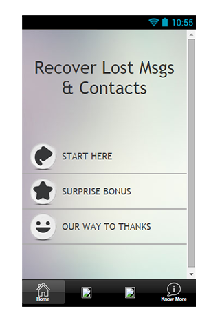 Recover Lost Msgs Contact Tips