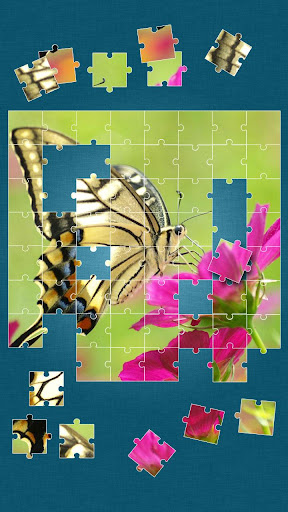 蝶パズルゲーム