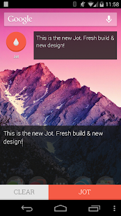 JOT! - Notes Widget - screenshot thumbnail