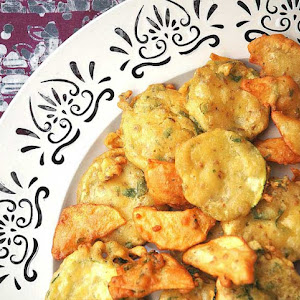 Spiced Vegetable Fritters