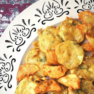 Spiced Vegetable Fritters.