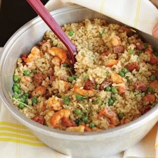 Chorizo And Shrimp Rice