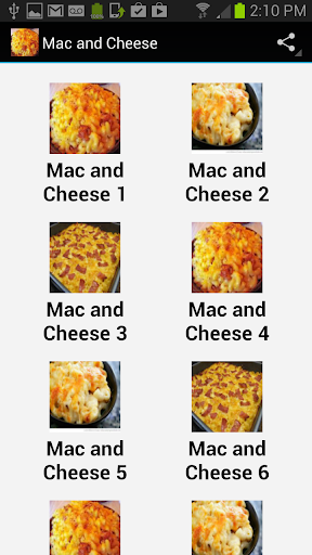 Mac Cheese Recipes