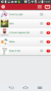 Argenta Golf- miniatura screenshot