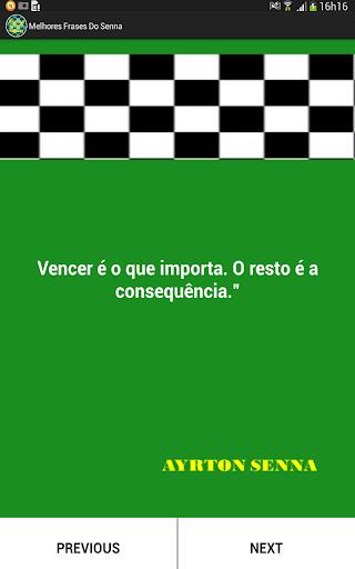 Melhores Frases do Senna