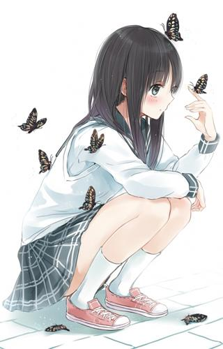 【Lovely】Girl Anime Picture App