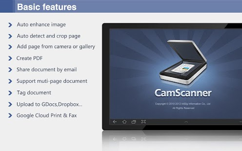 CamScanner HD (License) - screenshot thumbnail