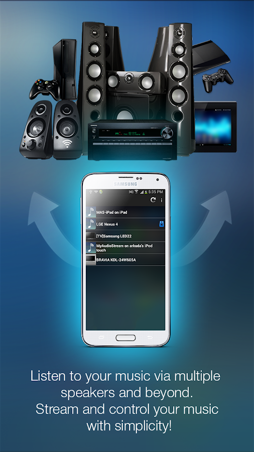 MyAudioStream Pro- screenshot