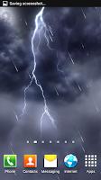 Screenshot of Stormy Lightning HD