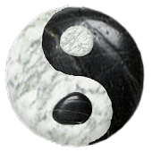 Black White Stone Meditation