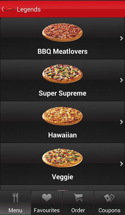Pizza hut coupons australia