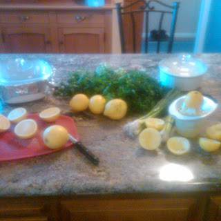 Spring Fresh Lemon and Parsley Tabouleh.