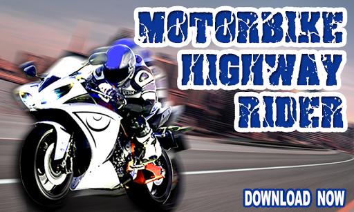 Motorbike Highway Rider