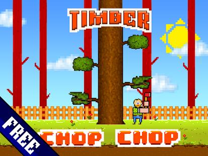TimberJack: Lumberjack Chop