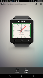 JJW Minute Watchface 5 for SW2- screenshot thumbnail
