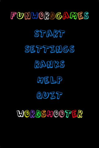 Word Shooter With Friends Free - screenshot