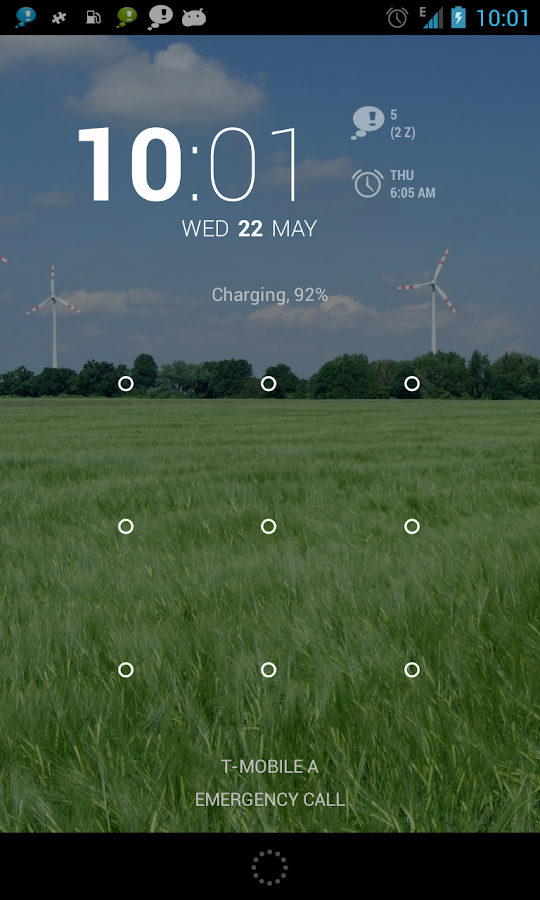 n'4get DashClock Extension - screenshot