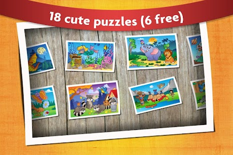 Kids Animals Jigsaw Puzzles 😄- screenshot thumbnail