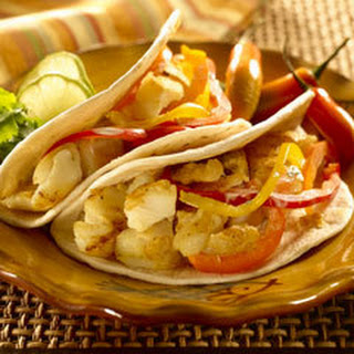 Knorr Fish Tacos With Bell Pepper Slaw.