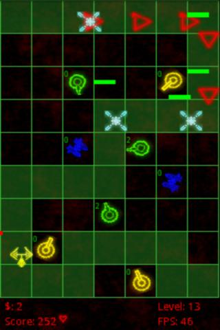 Pixel Defense Lite- screenshot