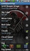 Screenshot of Grim Reaper LiveWallpaper Full