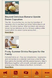 Banana Recipes FREE - screenshot thumbnail