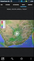 Screenshot of AfricaWeather