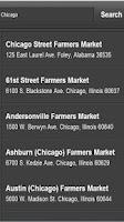 Screenshot of US Farmer's Markets