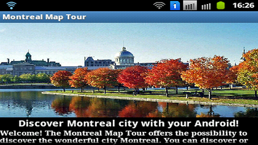 Montreal Map Tour