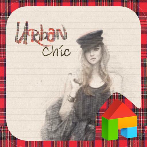 UrbanChic dodol launcher theme LOGO-APP點子