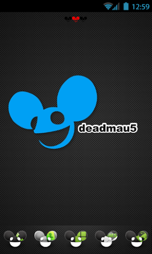 Go Launcher deadmau5 Theme