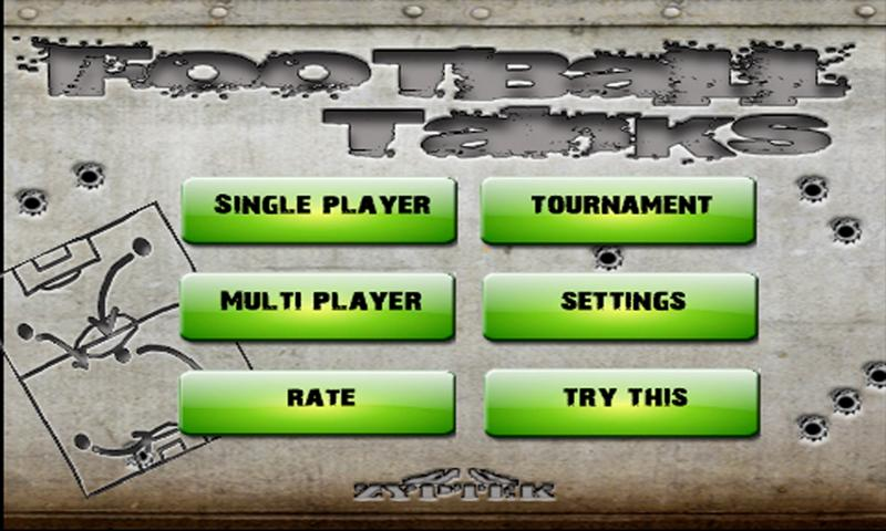 Football Tanks Lite - screenshot