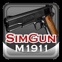 Sim Gun M1911 logo