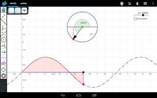 Screenshot of FreeGeo Mathematics