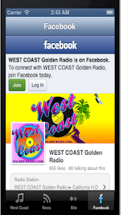 West Coast Golden Radio- screenshot thumbnail
