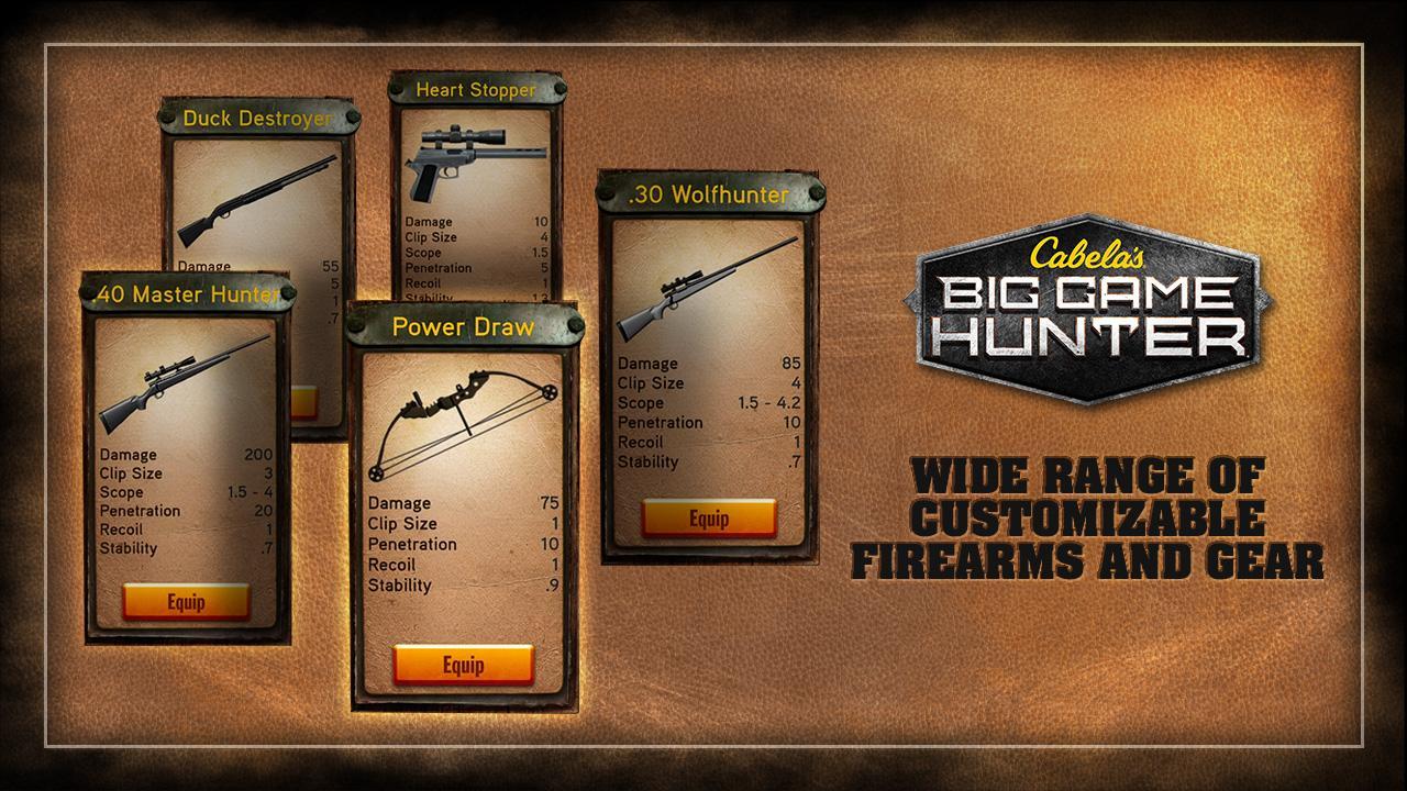 Cabela's Big Game Hunter - screenshot