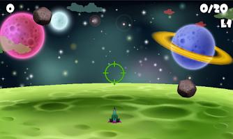 Screenshot of Meteorite Bullseye Elimimate