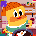 Bidoo's Cooking House Atom icon