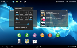 Screenshot of Toggle Small App