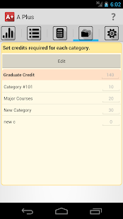 Grade Calculator (GPA) screenshot
