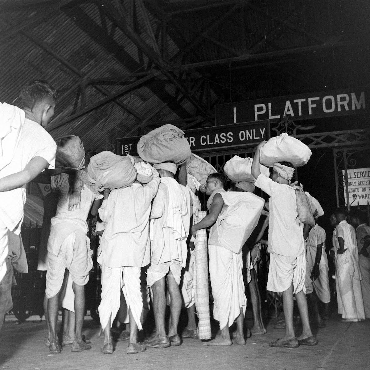 Aftermath Of Calcutta Riots