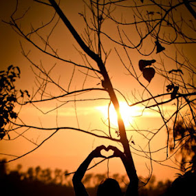 sunset love by Ryan Hortizuela - Landscapes Sunsets & Sunrises