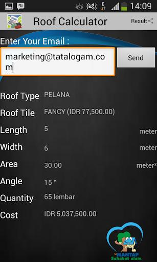 Roof Calculator