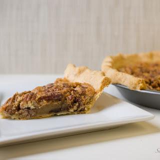 Chocolate Chip Bourbon Pecan Pie.