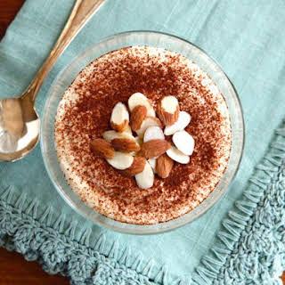 Cheesecake Tiramisu Protein Pudding.
