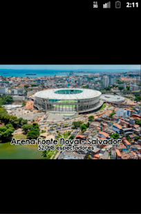 Brazil 2014 Football Stadium - screenshot thumbnail
